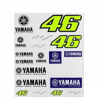 VR46 samolepky YAMAHA